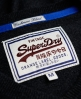 Superdry Orange Label V-neck Black
