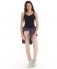 Superdry Lace Rib Vest Top Black