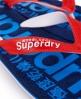 Superdry Scuba Flip Flops Navy