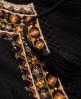Superdry Top à coutures en losanges Pheasant Noir