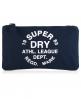 Superdry Athletic League Pencil Case Navy