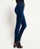 Superdry Sophia高腰超级修身牛仔裤 蓝色
