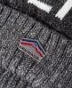 Superdry Super S.D Logo针织圆帽  灰色