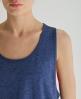 Superdry Low Arm Hole Vest Blue