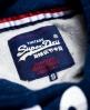 Superdry Sweat à capuche Trade Mark'd  Bleu Marine