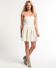 Superdry 50's Dovecot Jewel Dress Cream