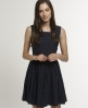 Superdry Horizon dress Navy