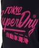 Superdry Ticket Burnout T-shirt Black