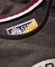 Superdry T-shirt coupe boyfriend Jamie Gris Foncé