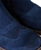 Superdry Kings Road Brogue Boots Navy