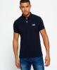 Superdry Classic Pique Polo Shirt Navy