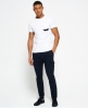 Superdry Surplus Goods Low Rise Cargo Trousers Navy
