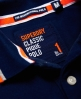 Superdry Polo International Bleu Marine