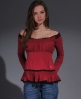 Superdry Megan Top Red