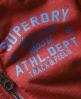 Superdry Trackster Zip Hoodie Red