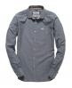 Superdry Cut Collar Shirt Dark Grey