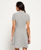 Superdry Erin Collar Kleid  Grau