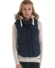 Superdry Hooded University Vest Navy