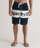 Superdry Bi Panel Boardshort Navy