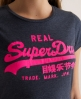 Superdry Vintage T-shirt Blue
