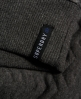 Superdry Gestepptes Nordic Crew Sweatshirt Dunkelgrau