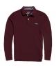 Superdry Classic Long Sleeve Pique Polo Shirt Purple