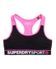 Superdry Gym Panel Sports Bra Black
