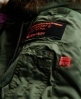 Superdry SD-3 Parka Coat Green