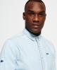 Superdry Indigo Loom Oxford Shirt  Blue