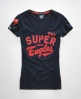 Superdry Sports Pitch 54 T-shirt Navy