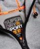 Superdry Felpa con zip e cappuccio Gym Tech Grigio
