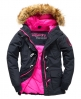 Superdry Chaquetón Everest Marino