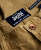 Superdry Worn Wash Jean Shorts Beige
