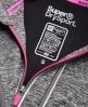 Superdry Core Gym Zip Hoodie  Dark Grey