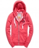 Superdry Orange Label Zip Hoodie Orange