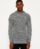Superdry Nordic Depth Crew Neck Sweater Grey