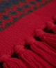 Superdry Fairisle Scarf Red