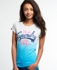 Superdry Made Entry T-shirt Blue