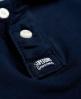 Superdry Polo classique en maille piquée Bleu Marine