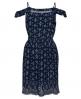 Superdry Festival Bardot Trägerkleid  Blau
