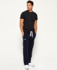 Superdry Orange Label Non-Cuffed Joggers Navy
