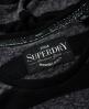Superdry Vintage Logo Stripe T-Shirt  Grey