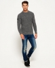 Superdry Surplus Goods Crew Neck Sweater Light Grey