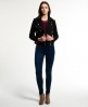 Superdry Lux Suede Biker Jacket Black