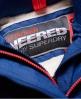 Superdry SD-Wind Attacker Jacke mit Sherpa-Kapuze  Blau