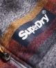 Superdry Sudadera con capucha, cremallera y mangas raglán Super 77 Surf Grey