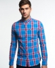 Superdry Washbasket Button Down Shirt Blue