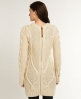 Superdry Cable Knit Dress Cream