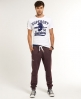 Superdry True Grit Joggers Red