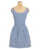 Superdry Sarah Jessica Dress Blue